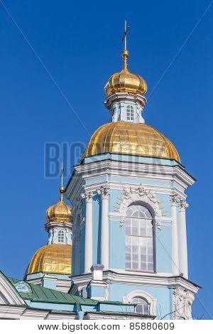 St. Nicholas Naval Cathedral. Saint-petersburg