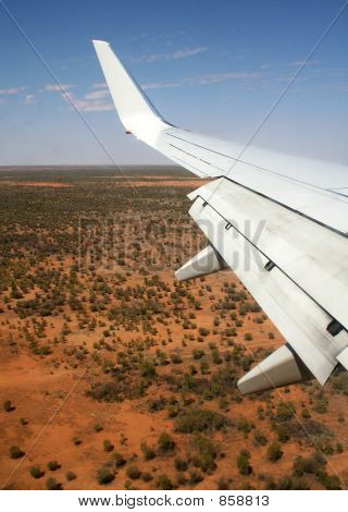 Aircraft Over The Outback