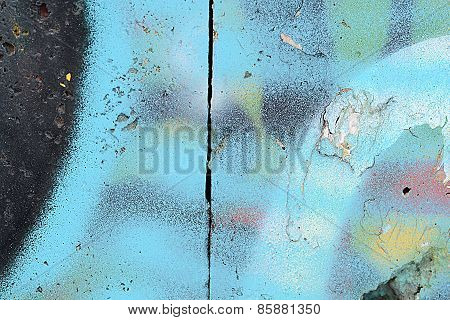 Classic Grunge Texture Of Aging Painted Wall