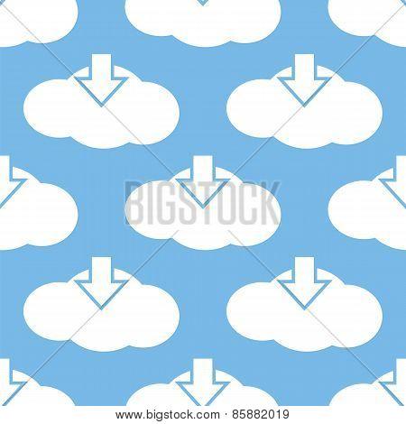Download cloud seamless pattern