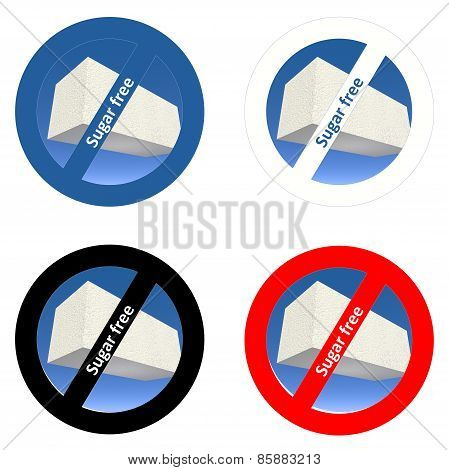 Stickers for sugar free products