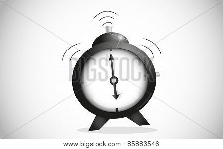 Ringing alarm clock