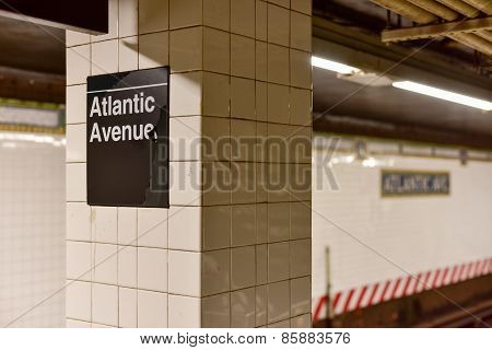 Atlantic Av, Barclays Center Station, New York City