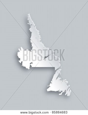 Map Of Newfoundland And Labrador