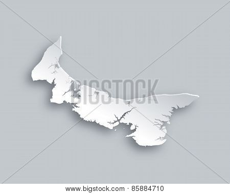 Map Of Prince Edward Island