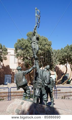 Historical site Umm Rashrash in Eilat, Israel
