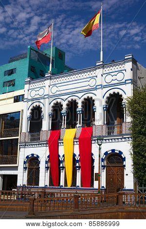 Casino Espanol in Iquique, Chile