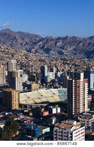 Hernando Siles Stadium in La Paz, Bolivia