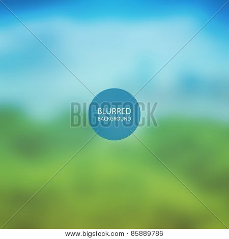 Abstract Background - Blurred Image