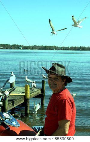 Elderly Senior Man S614
