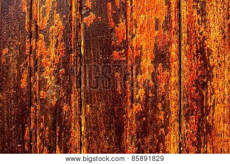 Yellow Orange Wood Texture