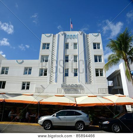 Art Deco Style Beacon in Miami Beach