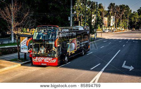 City Tour Bus - Bucharest