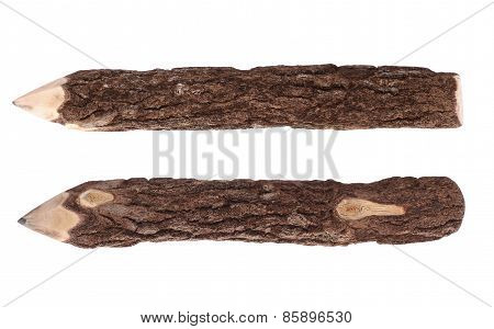 Pencil Bark - Wood Log