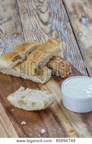 Flat Bread Sticks