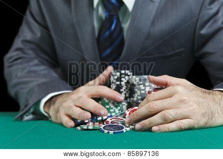 Blackjack Winner,a Solid Businessman, Won In Blackjack Game