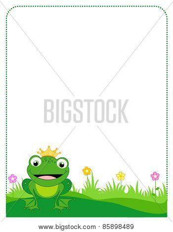 Frog Prince Frame