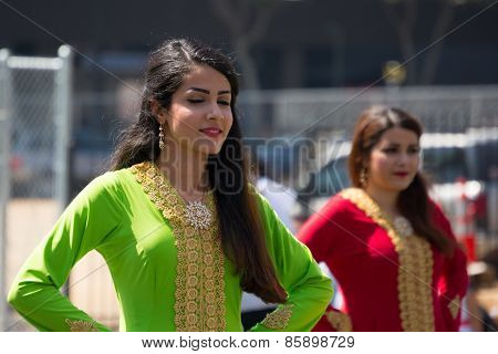 Persian Dancers Performing
