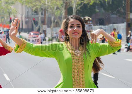 Persian Dancer Performing