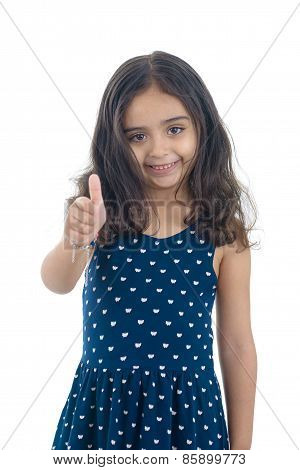 Thumb Up Girl