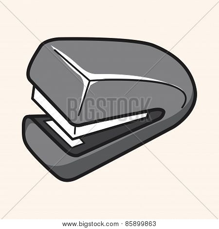 Stationary Stapler Theme Elements Vector,eps