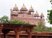 stock photo of mughal  - Jama Masjid mosque  - JPG