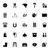foto of fibonacci  - DIY tool icons on white background stock vector - JPG