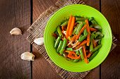 pic of sauteed  - Sauteed green beans with carrots - JPG