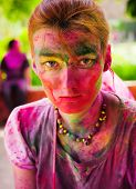 stock photo of holi  - DELHI INDIA  - JPG