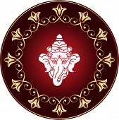 pic of ganpati  - Ganesha The Lord Of Wisdom Vector Art - JPG