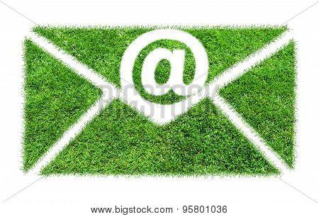 Symbol Grass Email