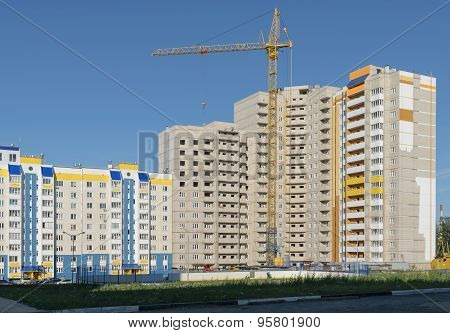 Construction of a new high-rise building