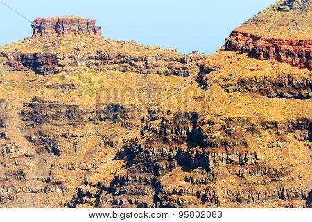 Cliffs At Imerovigli, Santorini