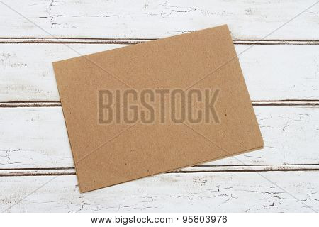Blank Card For Your Message