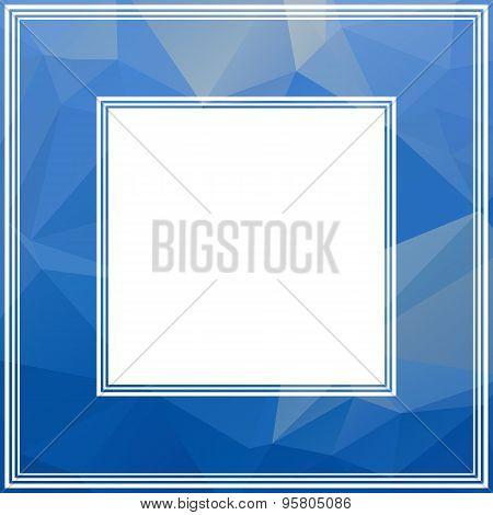 bright blue border