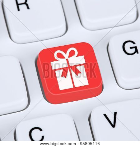 Internet Concept Gifts Online Shopping Ordering