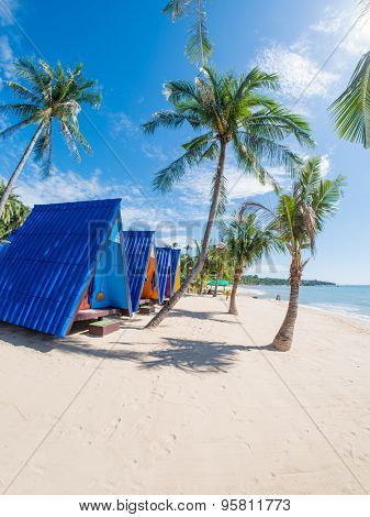 Tropical resort panorama in Koh Samui, Thailand