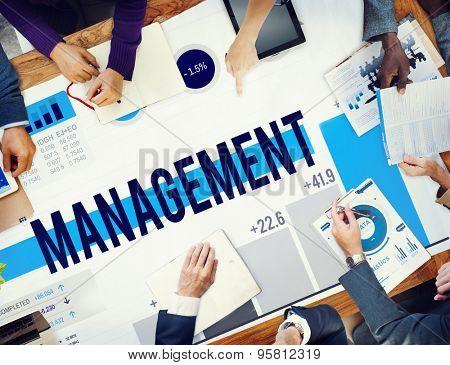 Management Organization Leadership Managing Concept