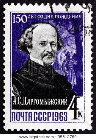 Postage Stamp Russia 1963 Alexander Sergeyevich Dargomyzhsky, Uk