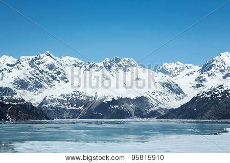 Ice in Glacier Bay