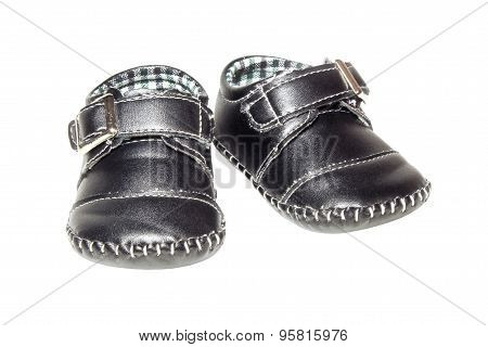 Children's Leather Booties