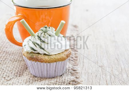 Coffee And Cup Cake
