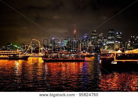 Sydney Boats Parade