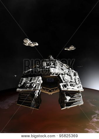 Spaceships in Orbit