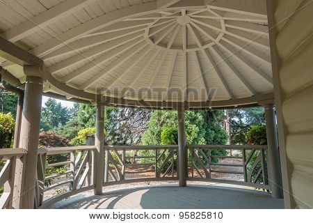 Porch With Domed Roof