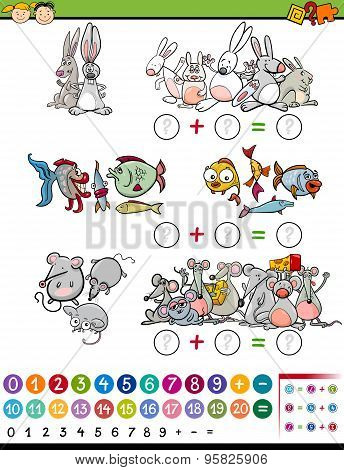 Cartoon Mathematical Game