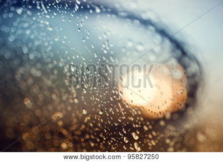 Rainy days,Rain drops on window,rainy weather,rain background,rain and bokeh