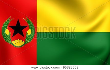 Flag Of Cape Verde (1975-1992)