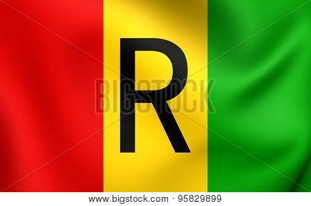 Flag Of Rwanda (1962-2001)