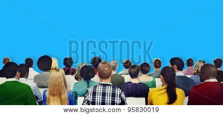 Audience Casual Diversity People Meeting Concept